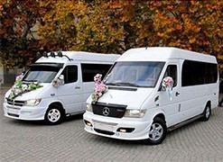 Микроавтобусы на свадьбу
