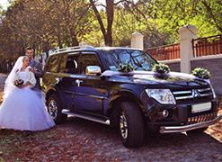Аренда джипов на свадьбу