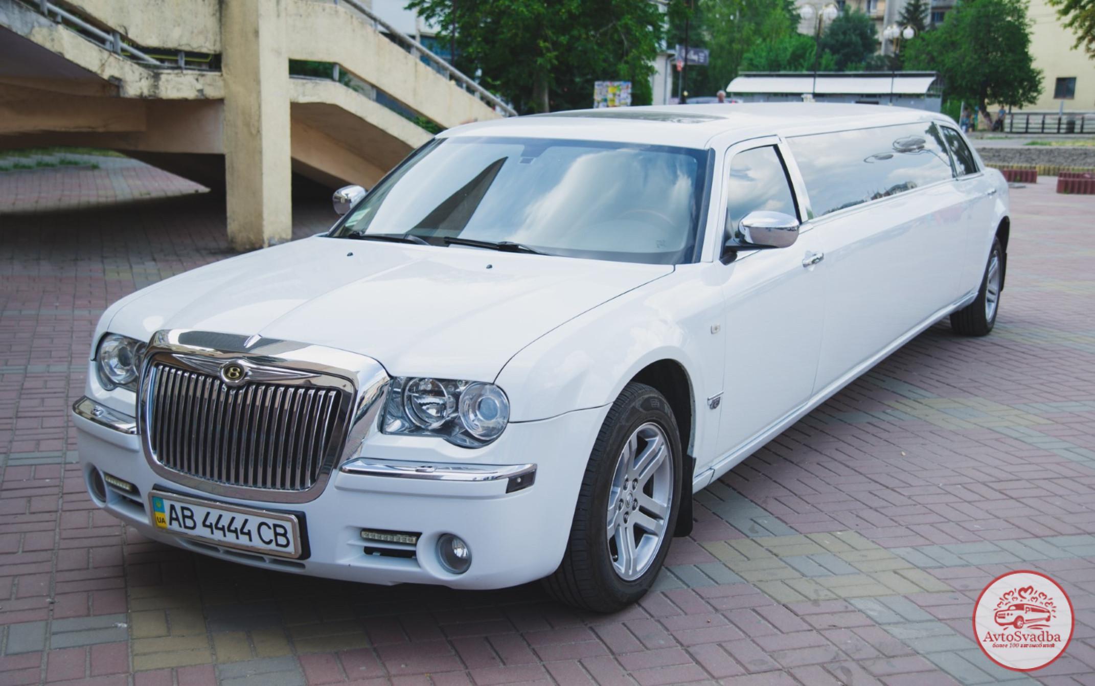 Лимузин Крайслер 300С на свадьбу