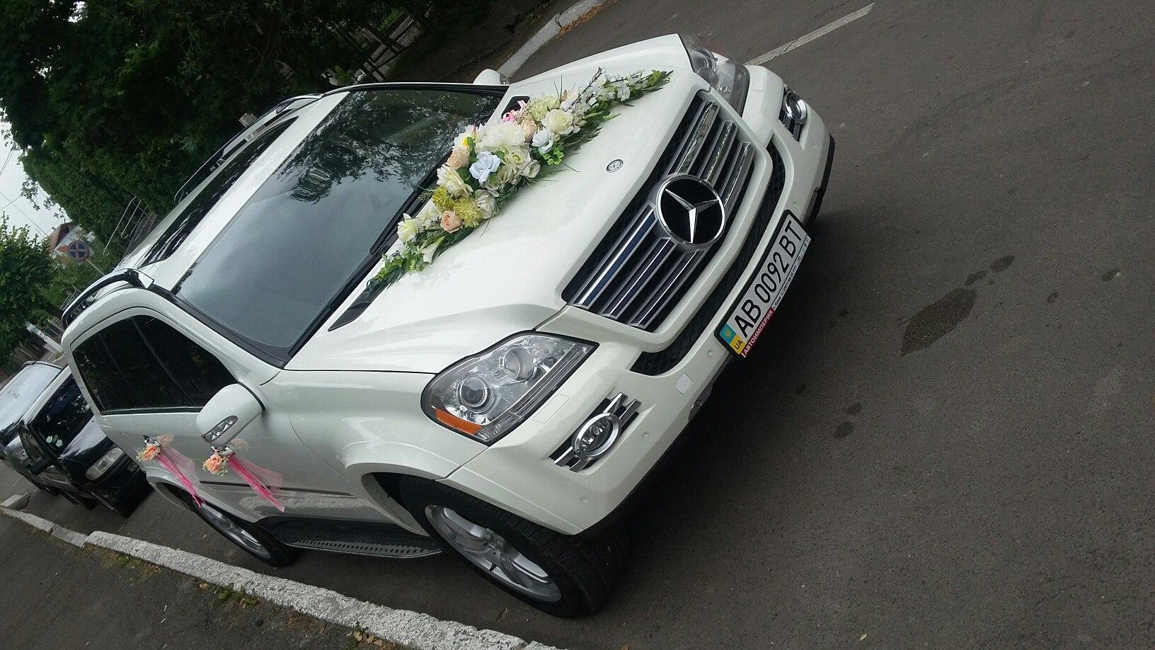 Mercedes GL 550 авто на свадьбу -2