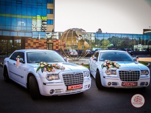 авто на свадьбу Chrysler 300C